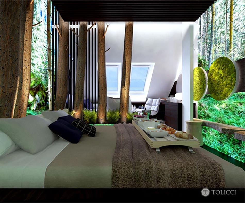 Les Suites De Cet Hôtel Boutique Sont également Inspirées Par Le Vert éco.  Inspiration ...