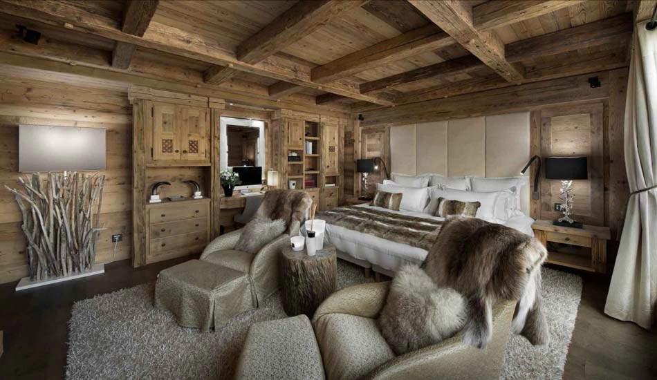 Chalet de luxe m ribel pour des vacances d hiver - Cosy home deko ...