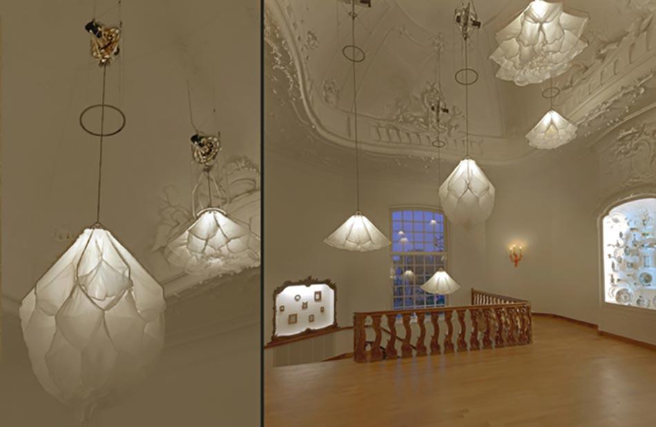 Luminaire Design Inspiré Par Les Fleurs Qui Su0027ouvrent Et Se Ferment