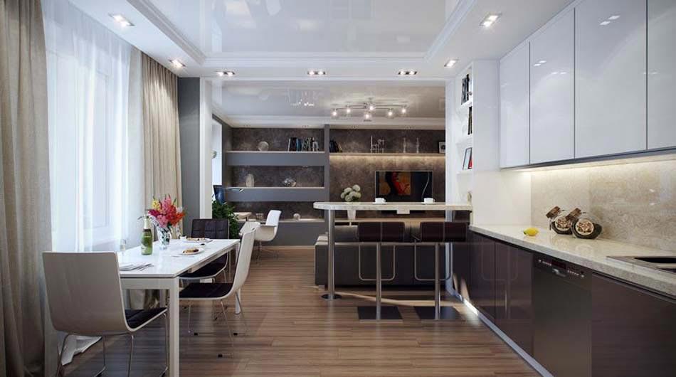 Bon Coin Cuisine Et Coin Repas Faisant Office Du0027une Salle à Manger Design  Moderne