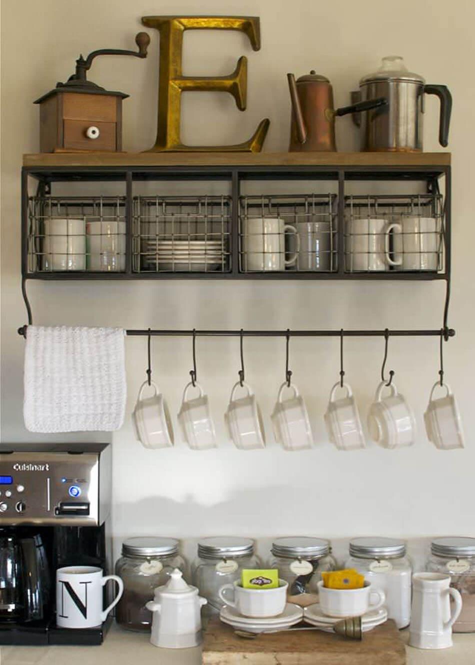 Idée déco sympa créative pour chacun des amateurs du café chaud à