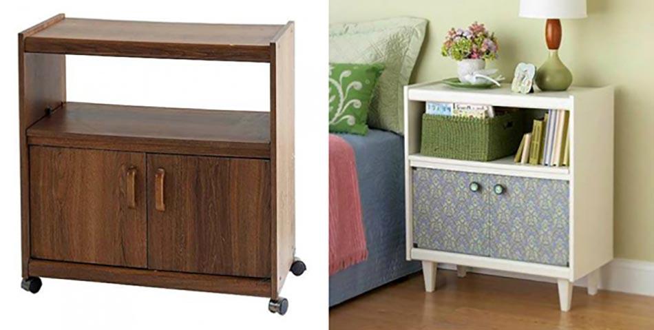 Inspiration d co pour redonner vie un vieux meuble - Transformar muebles antiguos en modernos ...