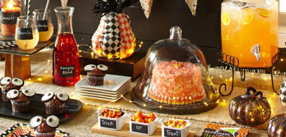 Id es halloween repas for Decoration de table halloween