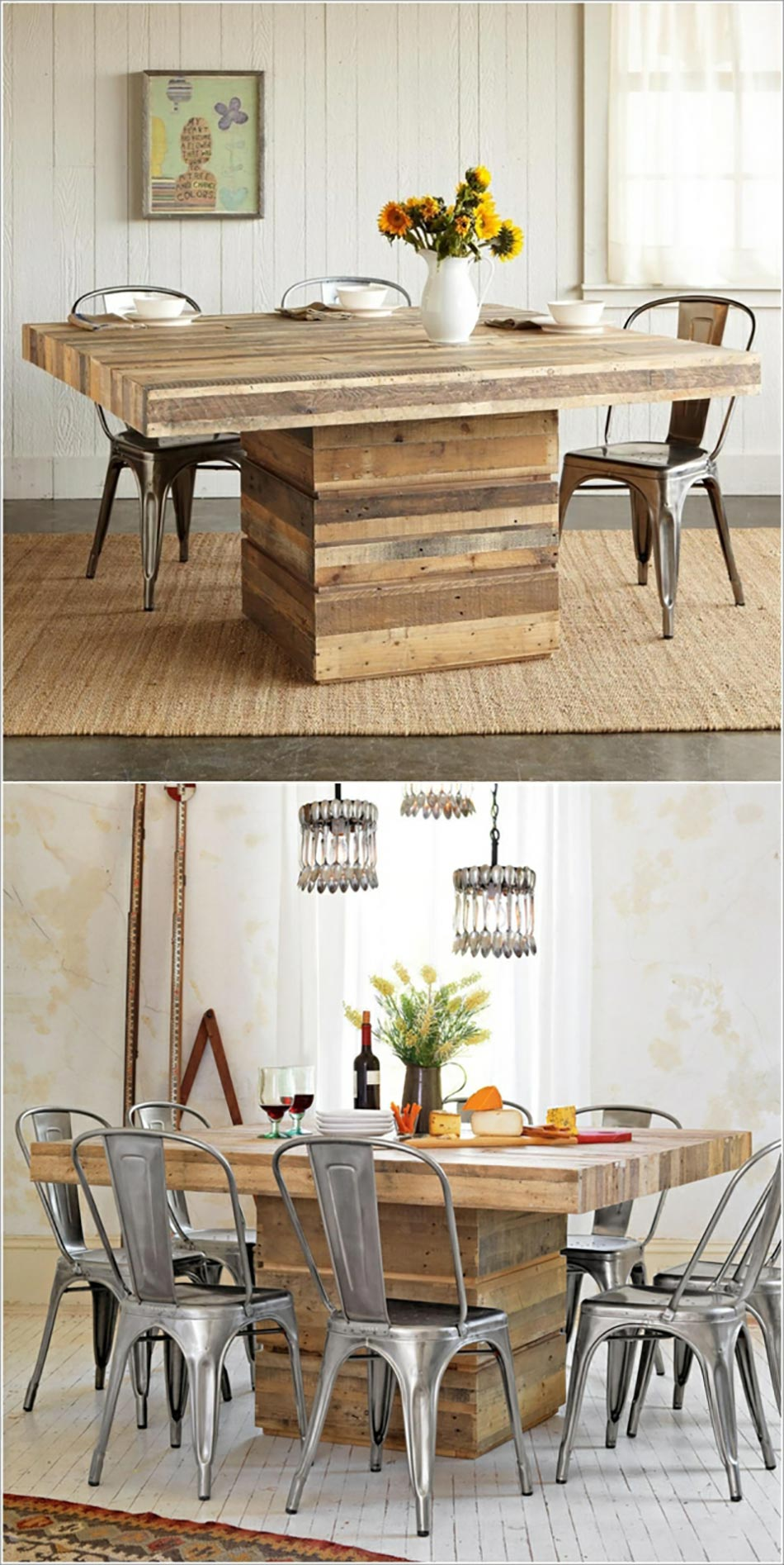 Table originale salle manger - Table a manger originale ...