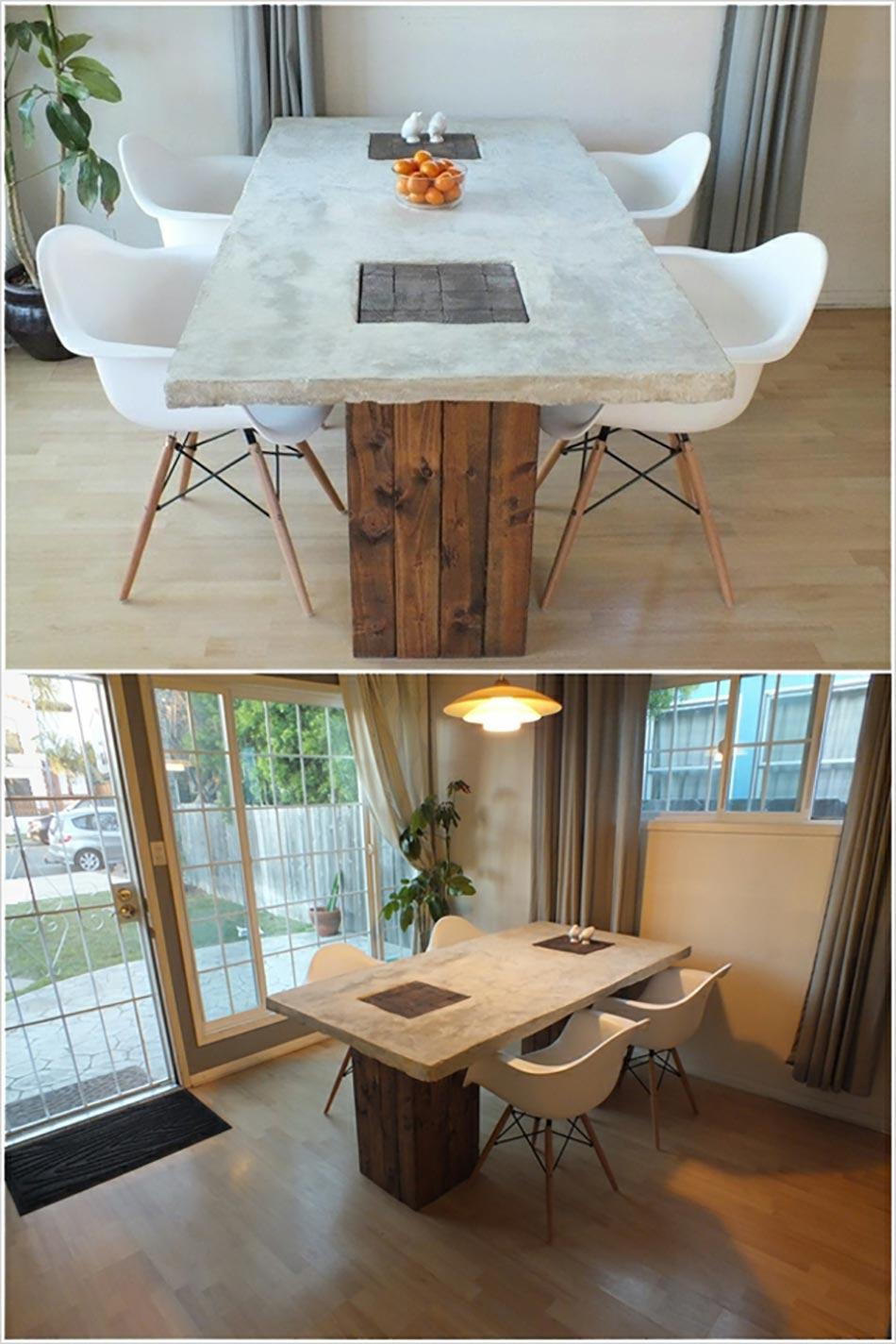Table de salle manger originale et personnalisable design feria - Jeux pour faire a manger ...