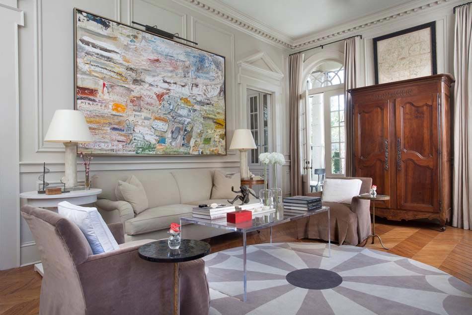 Le tableau d co embellit les murs et transforme l ambiance g n rale d une pi - Grand tableau moderne ...