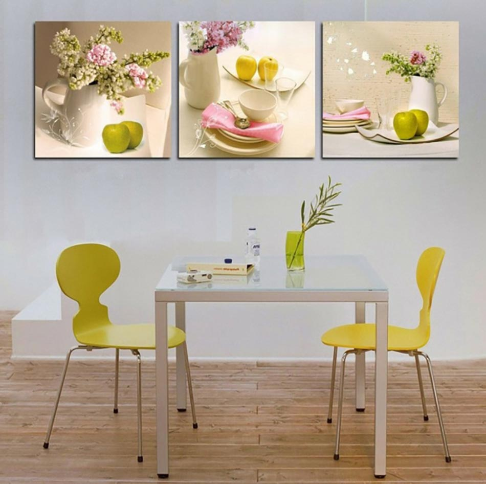 Cuisine la d coration printani re inspir e par les fleurs design feria for Photo moderne deco