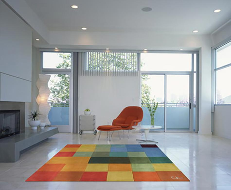 Tapis de sol design pour une d co unique design feria Tapis de salon moderne