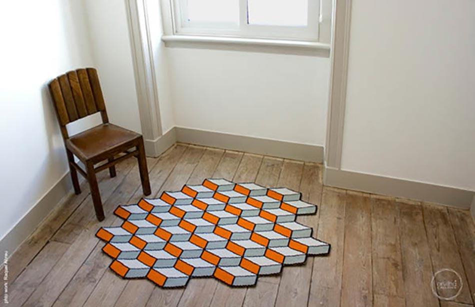 Célèbre Tapis de sol design pour une déco unique | Design Feria AV32