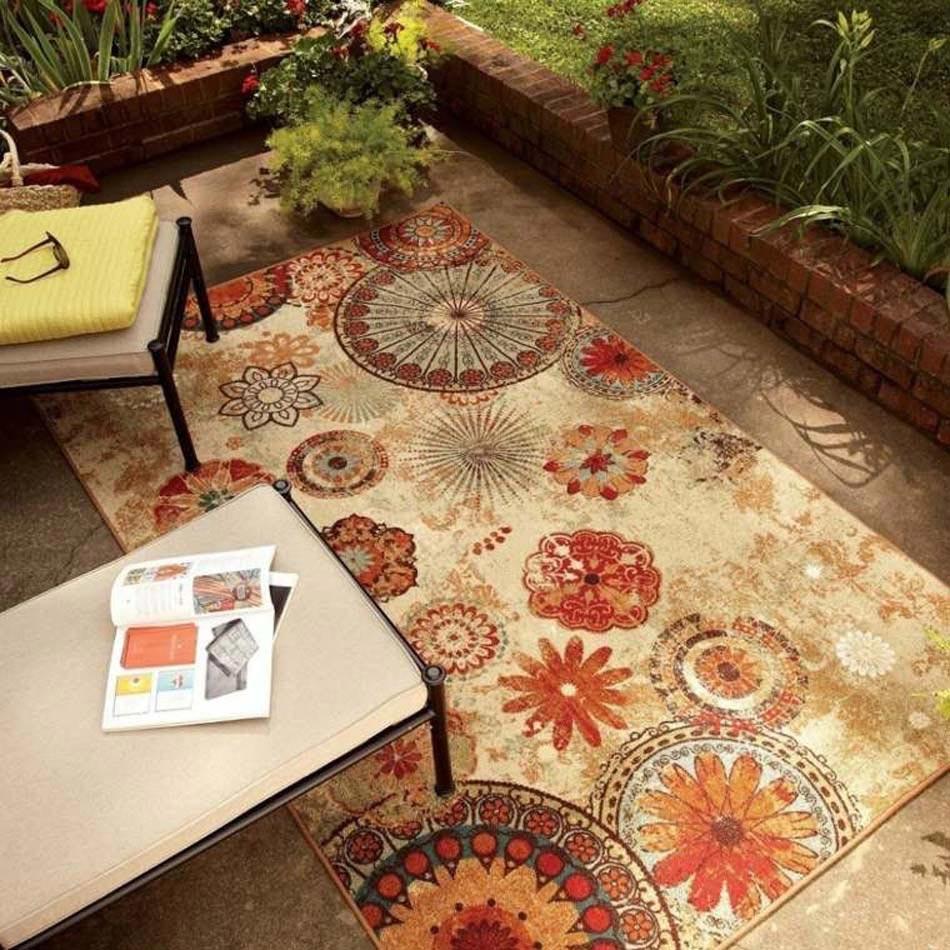 Le tapis ext rieur la touche d co pour des espaces for Tapis exterieur 8x10