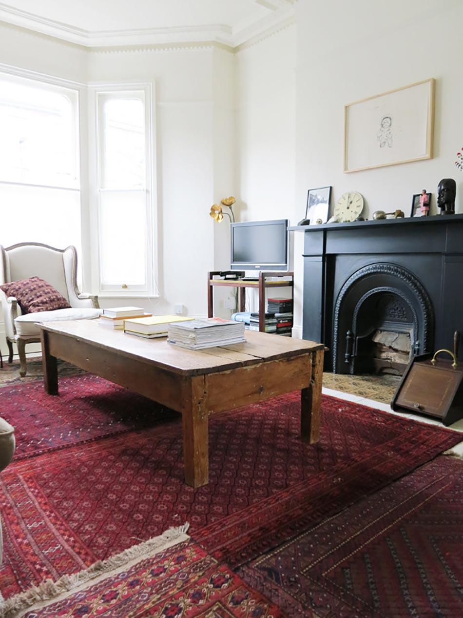 Simple tapis design ancien pour une ambiance rustique et - Maison de ville moderne design klein ...