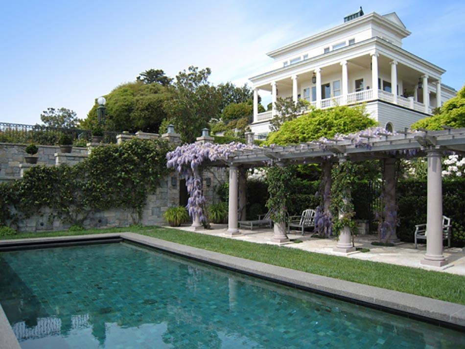 12 exemples d am nagement jardin avec des glycines design feria - Terras amenagee ...