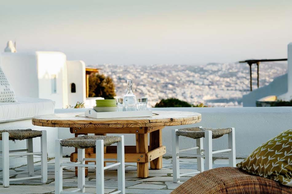 Une terrasse sur le toit bien souvent offre de belle vue sur les ...
