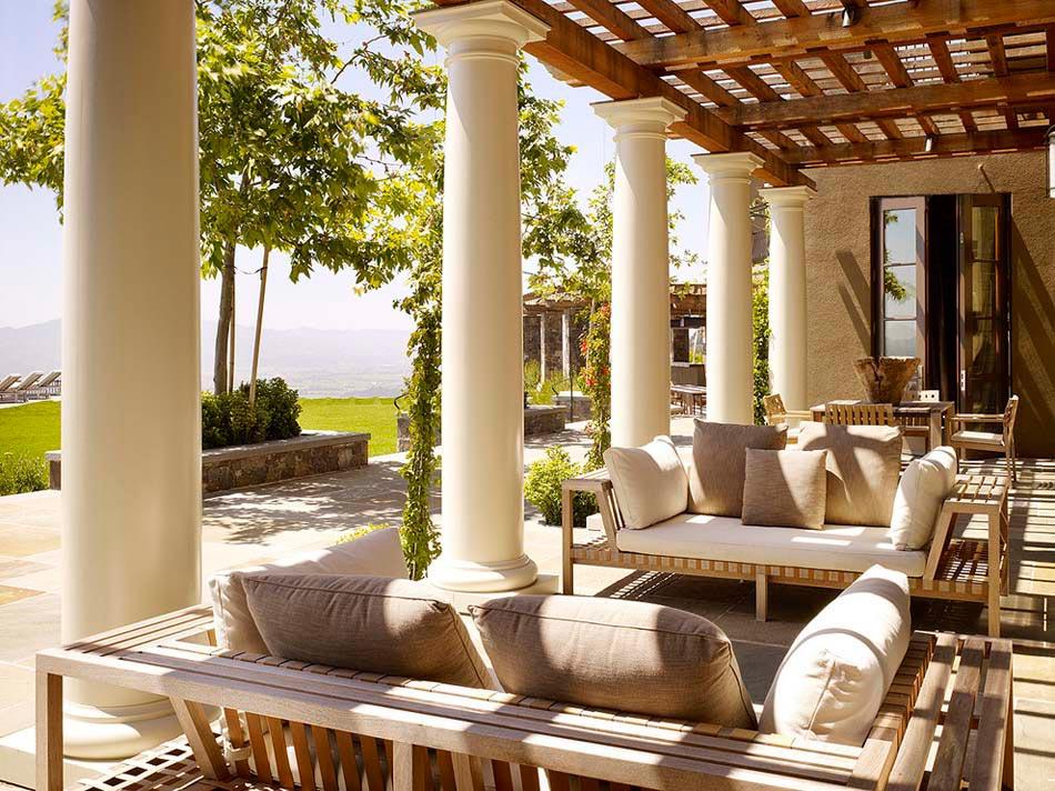 Terrasses Couvertes Pergola Design Offrant Des Espaces
