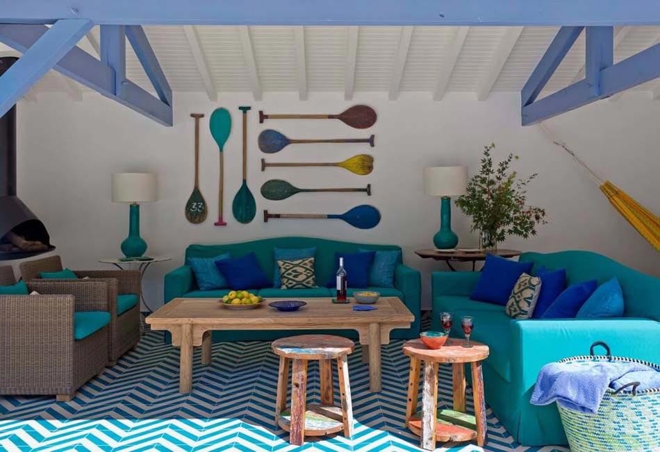 Belle Maison De Vacances A La Decoration Inspiree Par La Mer A