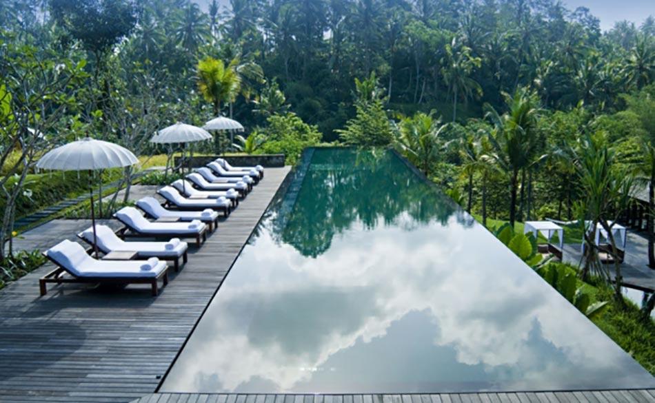 Piscine Sur Terrasse Exotique Bali