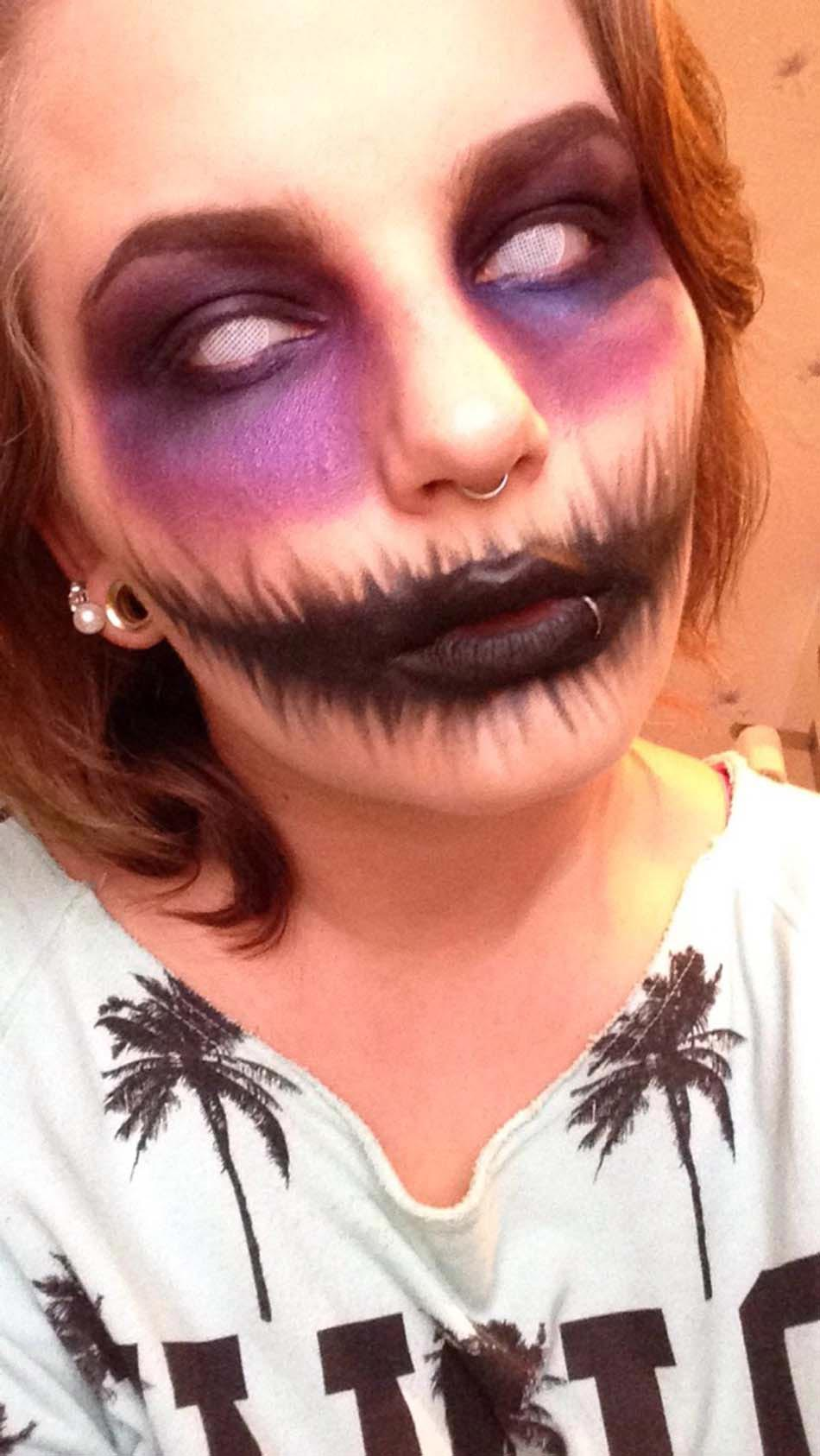 Maquillage halloween femme qui fait pas peur - Maquillage halloween simple fille ...