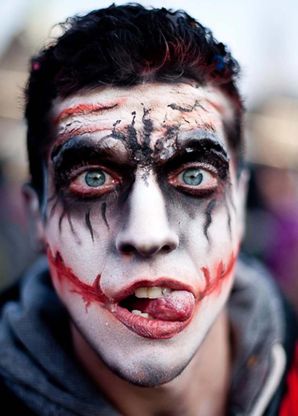 Maquillage homme halloween 16 id es pour r ussir une transformation terrifiante design feria - Maquillage vampire halloween ...