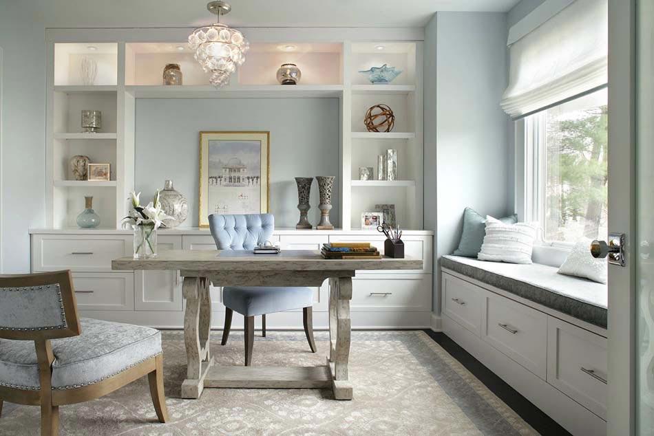 15 exemples d am nagement bureau au design l gant et moderne design feria. Black Bedroom Furniture Sets. Home Design Ideas