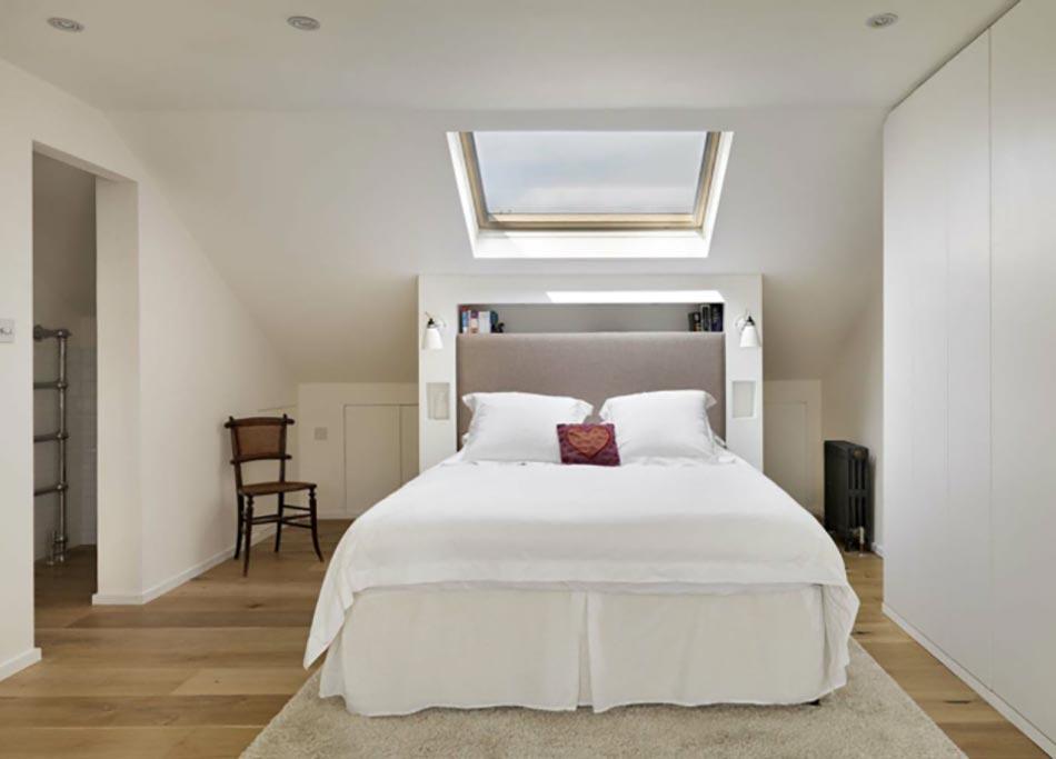 Aménagement des combles pour une jolie chambre sous toit | Design Feria