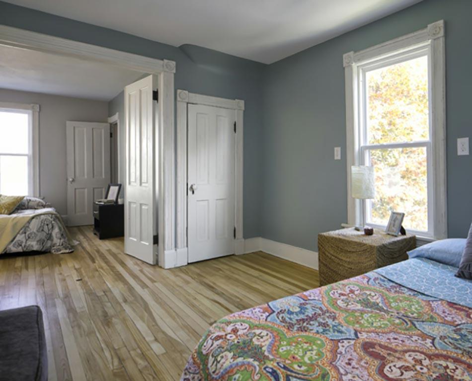 La Même Chambre Après Les Travaux De Rénovation