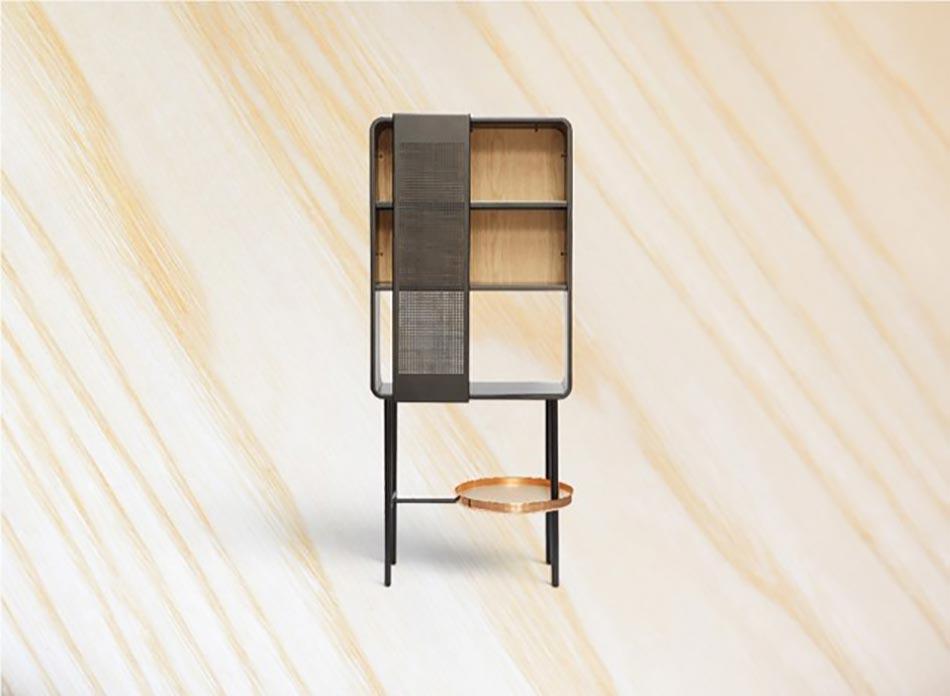 Superieur Vue De Près Le Placard Mobile De Cette Cuisine Design Innovant