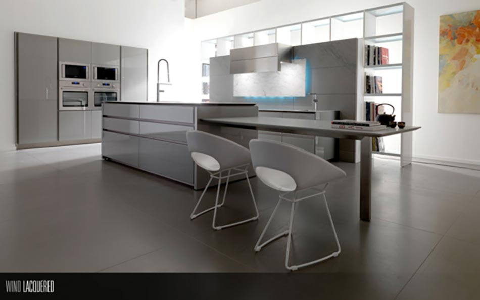 Toncelli ou la cuisine design artisanale italienne for Cuisine contemporaine moderne