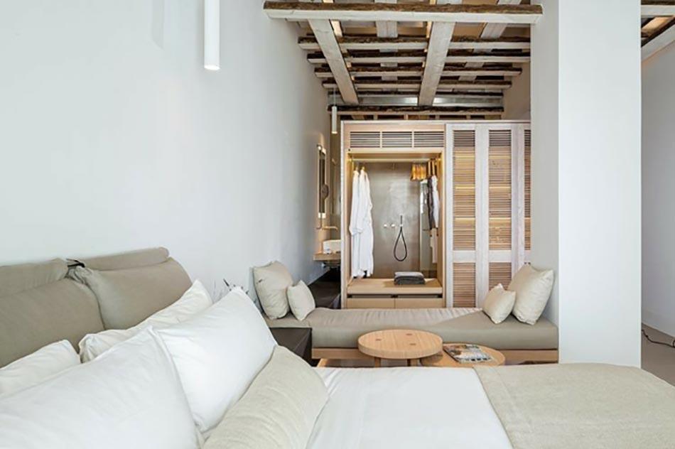 Vacances Mykonos Chambre Luxe Suite Hôtel Design