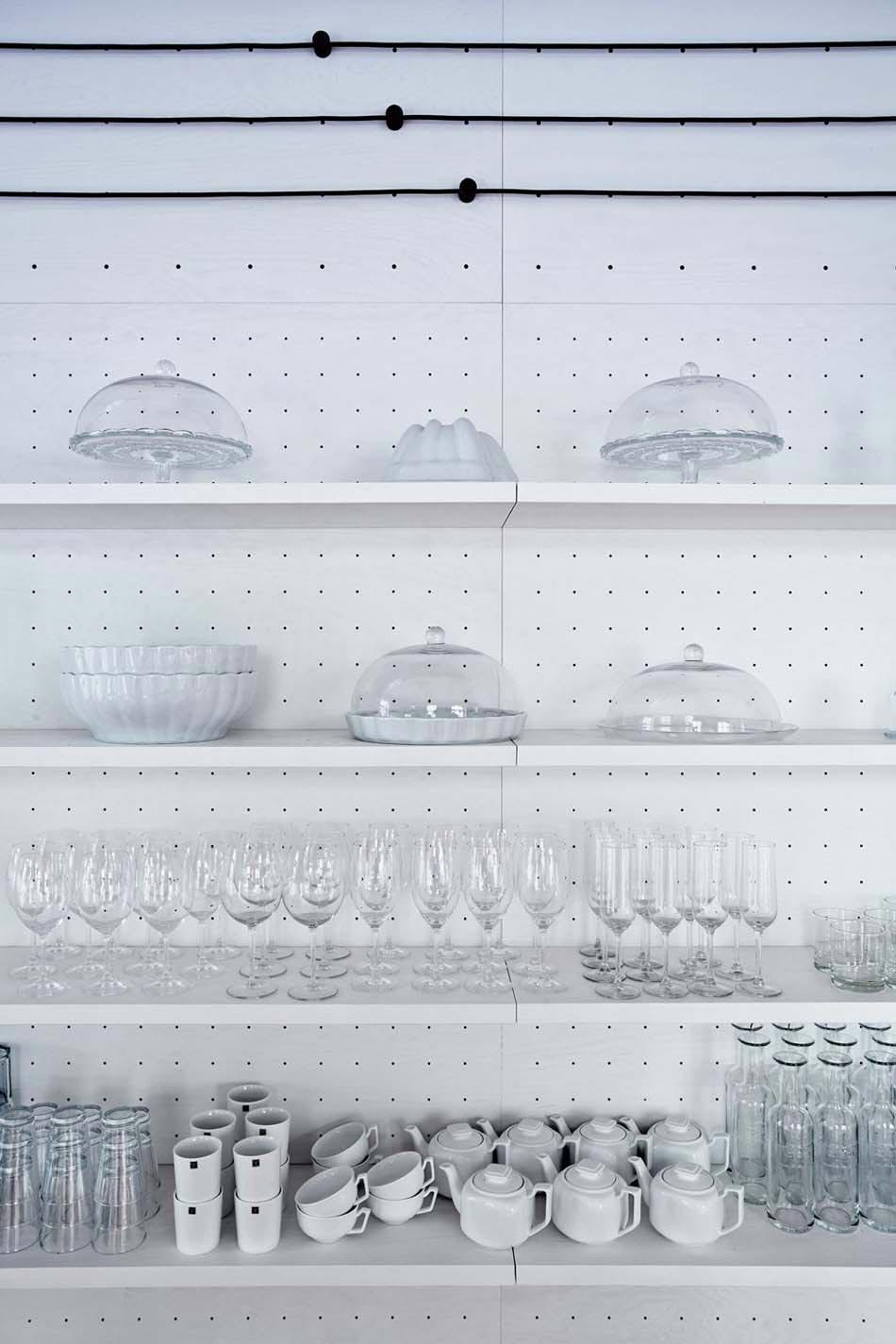 Vaisselle Retro Bistro Design Minimaliste