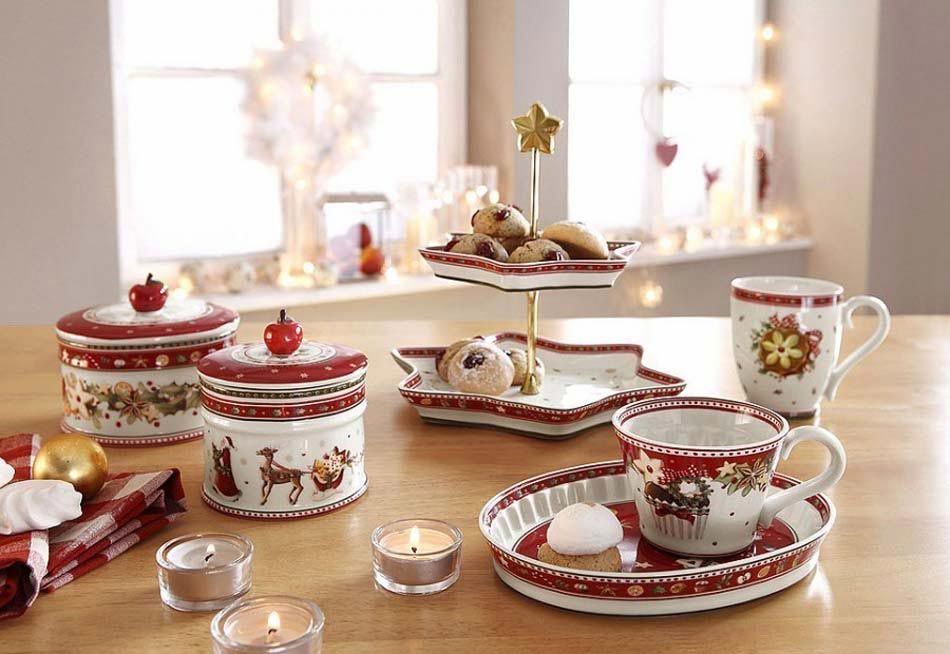 d co vaisselle originale dans l esprit no l pour dresser une accueillante table festive design. Black Bedroom Furniture Sets. Home Design Ideas