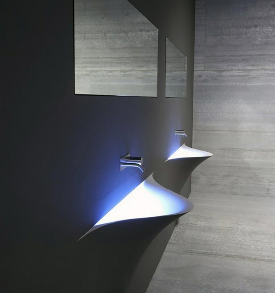 Vasque design ou l ameublement salle de bain original for Salle de bain ultra moderne