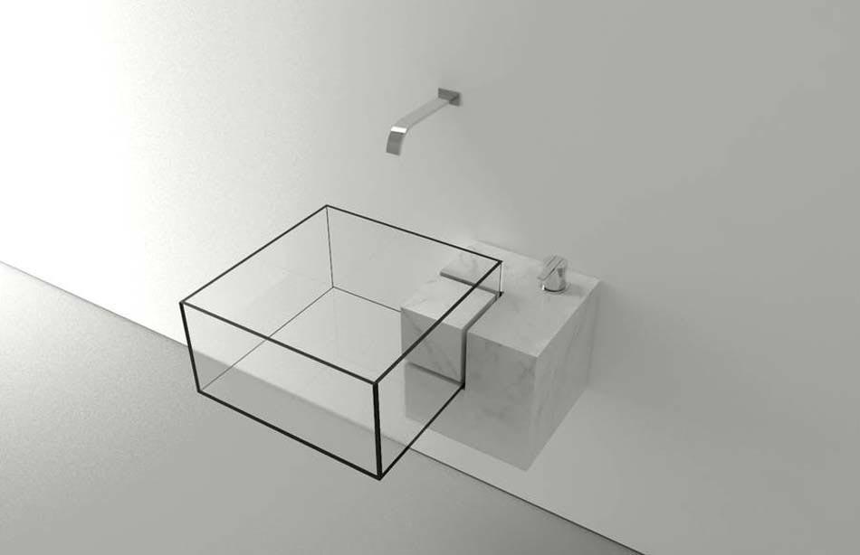 Salle de bain moderne tendance inspir e par le design for Architecture minimaliste