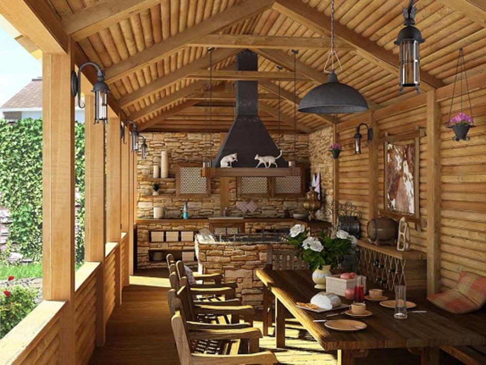 l int rieur bois rustique garantie pour la chaleur et le. Black Bedroom Furniture Sets. Home Design Ideas