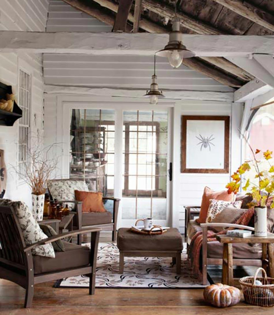interieur maison bois et blanc. Black Bedroom Furniture Sets. Home Design Ideas