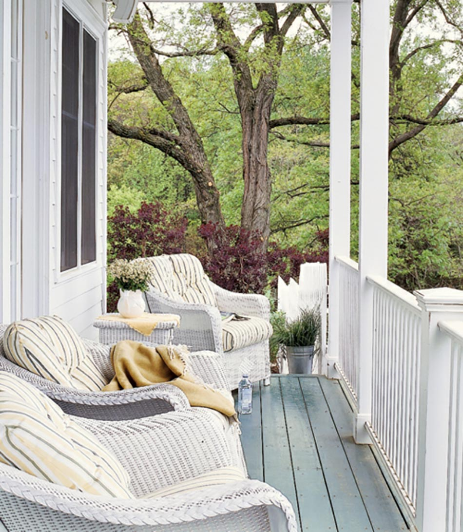 la v randa ou l extension maison in outdoor. Black Bedroom Furniture Sets. Home Design Ideas