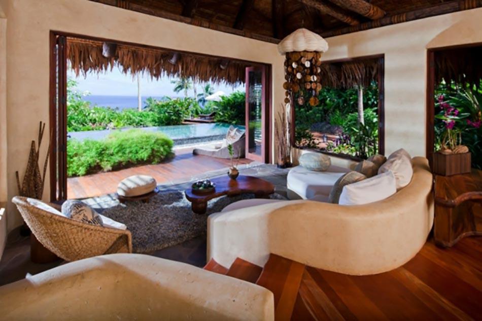 Grand Destination De Reve Et Garantie De Moments Uniques. Intérieur Villa De Luxe Laucala  Complexe