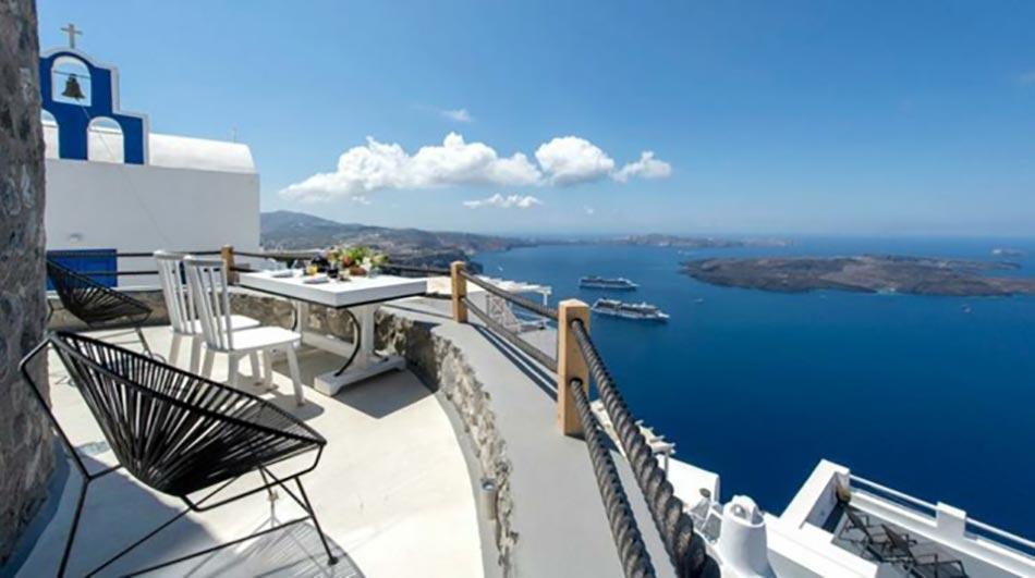 Romantique Week End En Amoureux Santorini