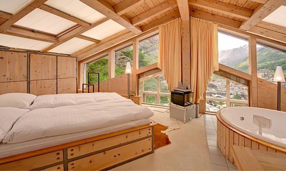 Magnifiques chambres avec une belle vue couper le souffle design feria - Chambre pont style montagne ...