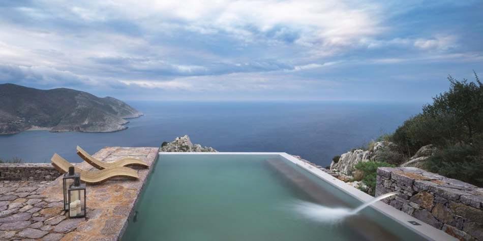 Piscine Avec Vue Sur Mer Chambres Du0027hôtes Grèce