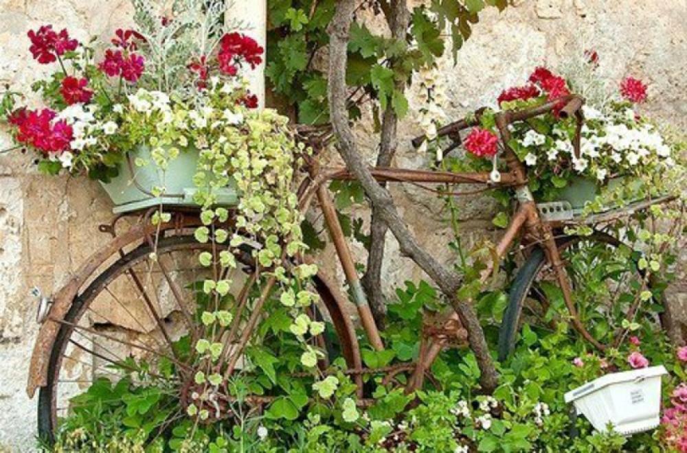 Deco recup pour jardin for Accessoire jardin