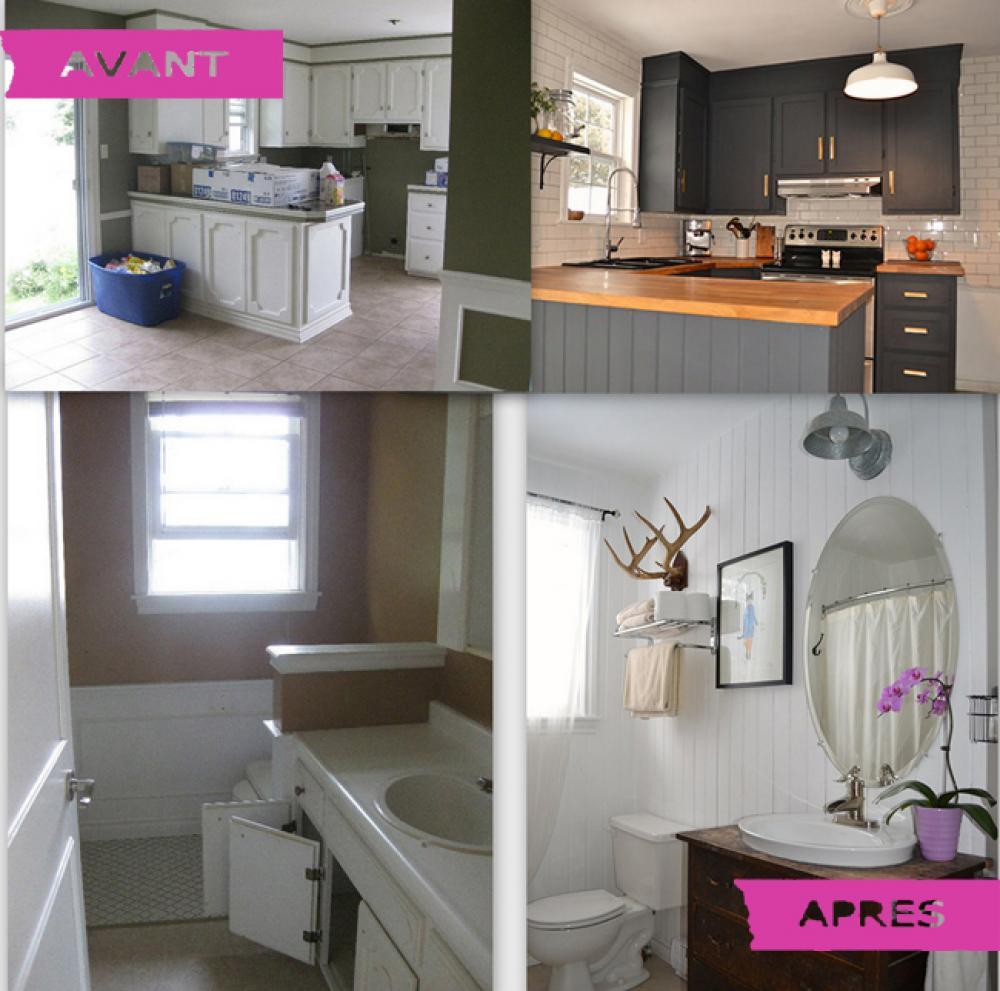 rénovation cuisine et salle de bain à bas prix - Budget Salle De Bain