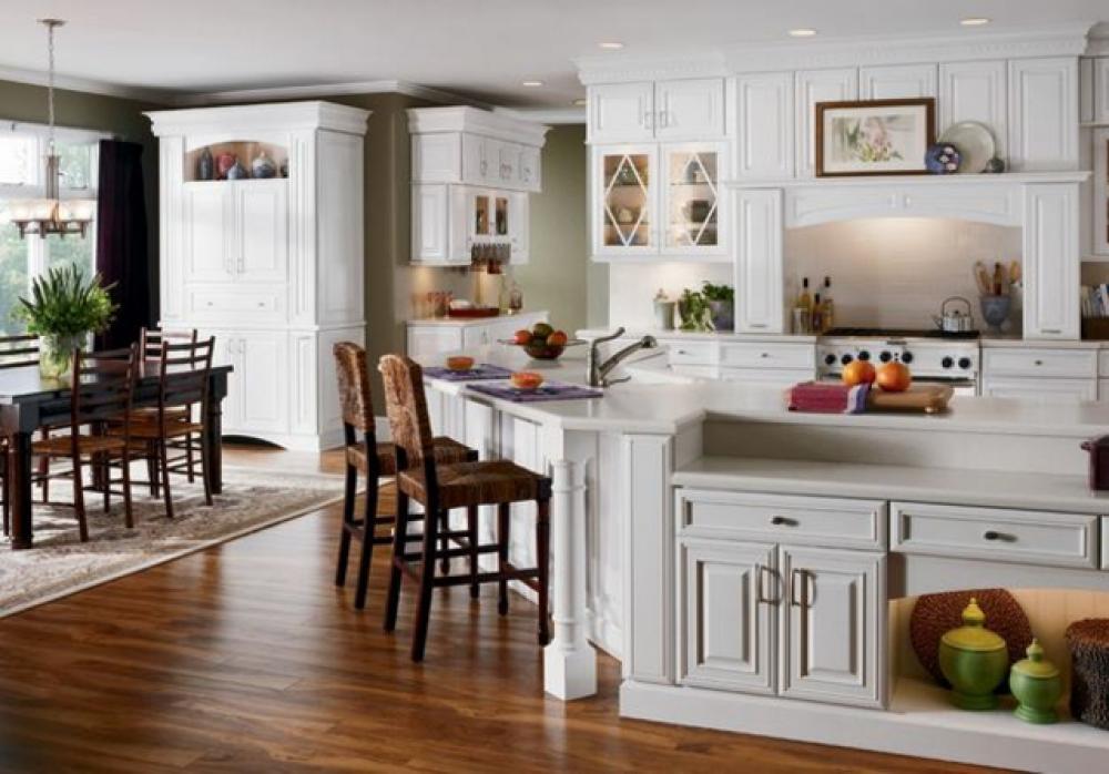 Cuisine design ou la magie du blanc design feria - Le decor de la cuisine ...