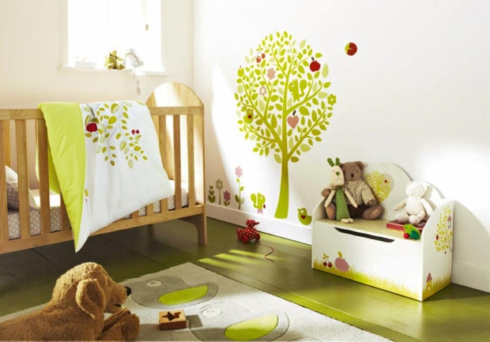 16 stickers muraux pour bien d corer la chambre de b b - La chambre de bebe ...
