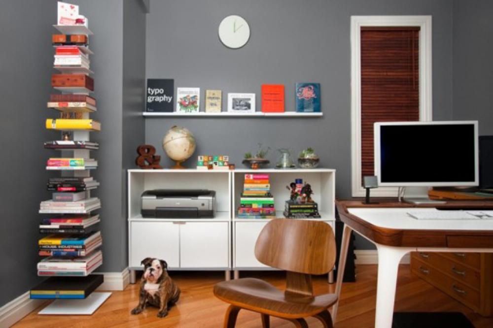 Les étagères en tant que mobilier de bureau créatif design feria