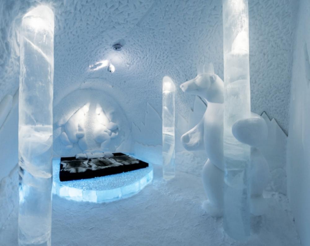 h tel de glace au sommet de l originalit touristique. Black Bedroom Furniture Sets. Home Design Ideas