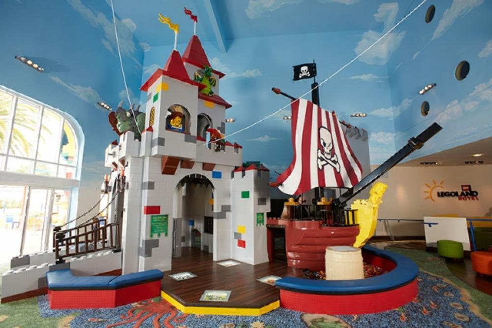Hôtel design Lego