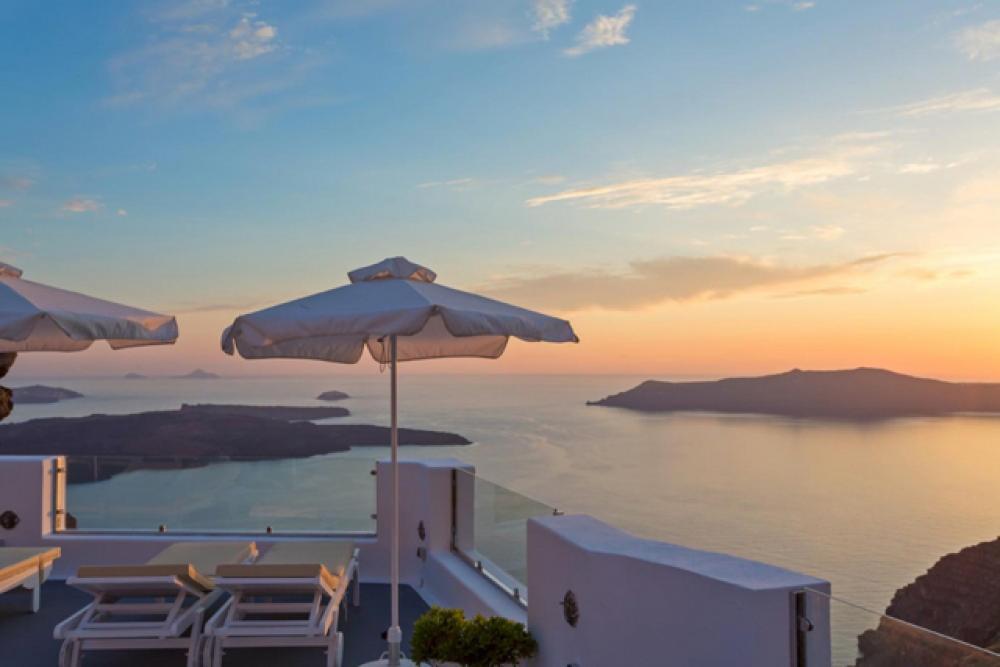 Merveilleux Terrasse à La Vue Magnifique Sur La Mer