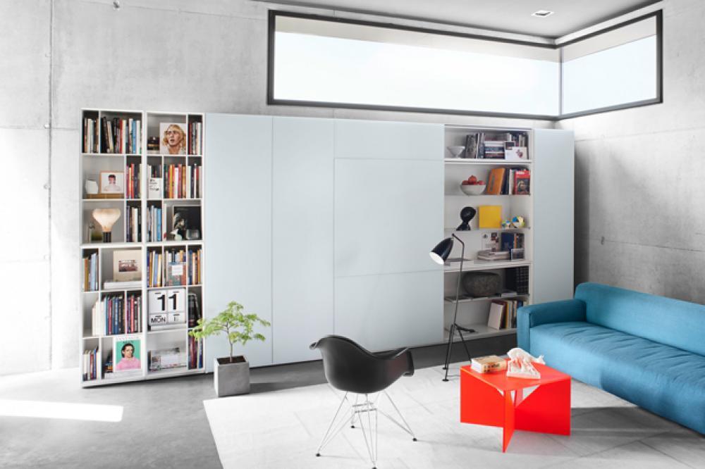 Bibliothèque de salon Kettnaker