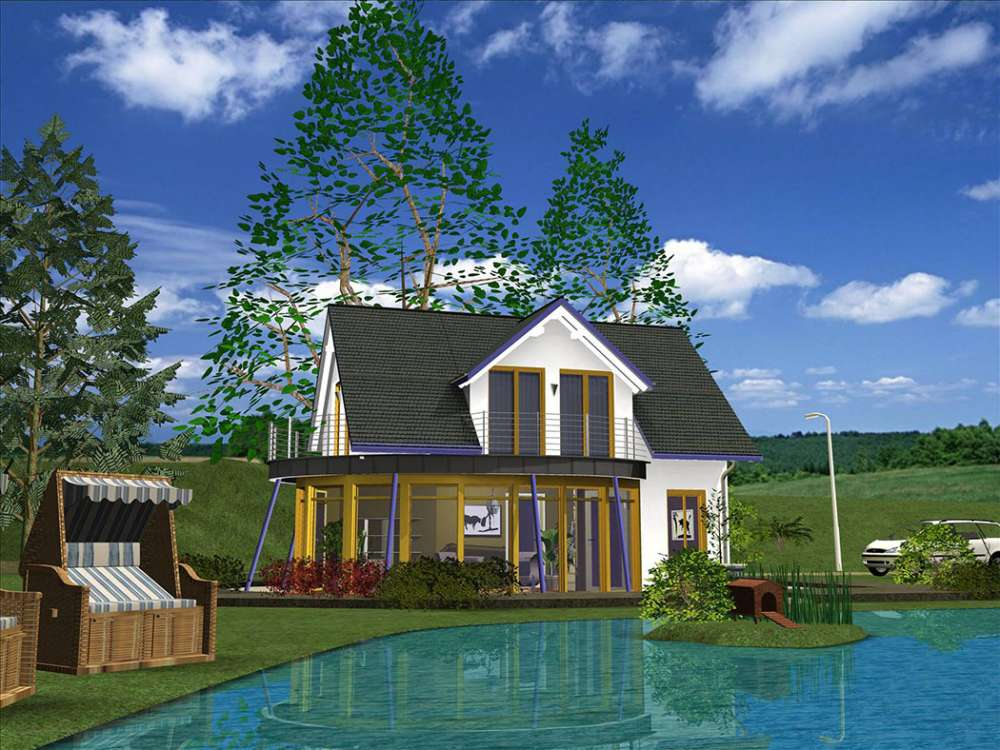 visualisation maison logiciel cao 3D