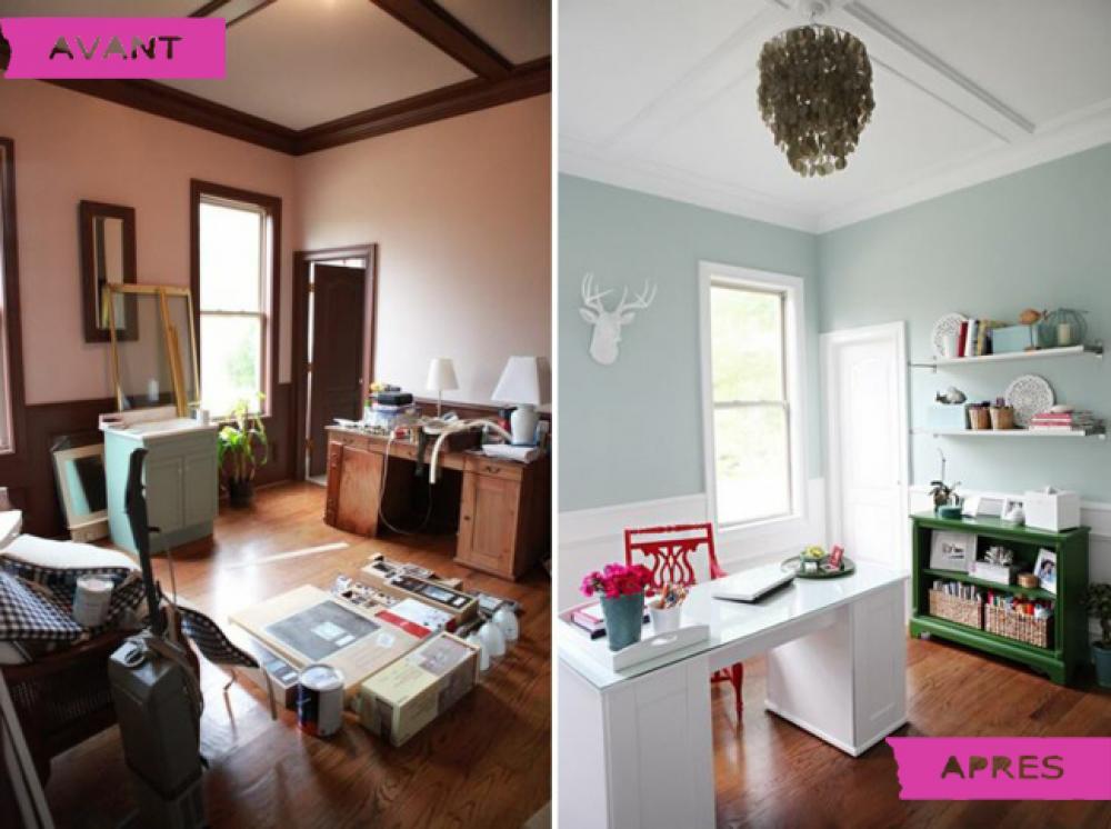 incroyable renovation avant apres 10 vue g n rale avant et apr s la r novation. Black Bedroom Furniture Sets. Home Design Ideas